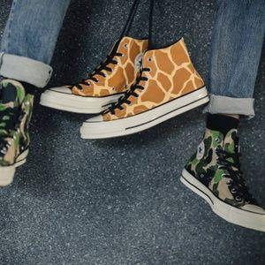 New Men Converse Chuck 70 Archive Giraffe Canvas